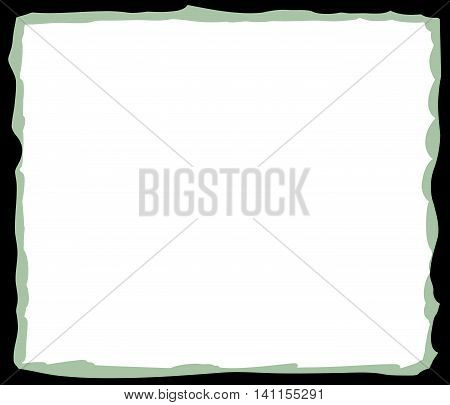 Black And Green Frame Background