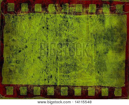 Marco de la gran película de texturas y fondos con espacio para su texto e imagen