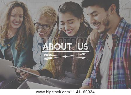 About Us Information Story Description Concept