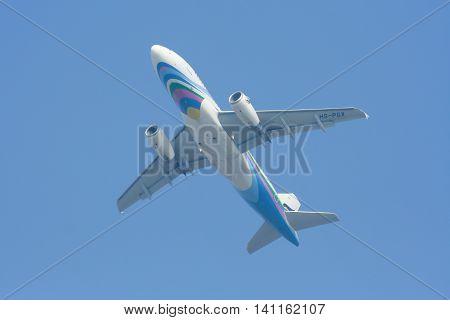 Bangkok Airway. Take Off From Chiangmai Airport