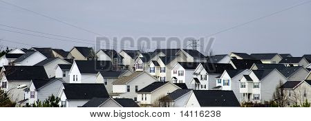 Suburban Landschaft
