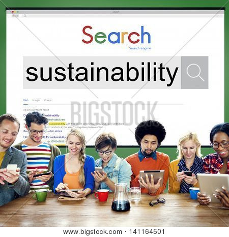 Substainbility Environmental Conservation Resources Ecology Concept