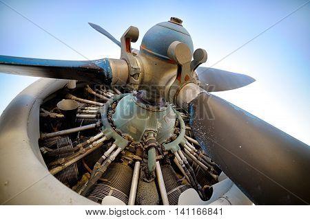 Piston Aircraft Engine, Propeller