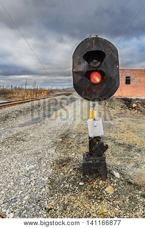 Railway Traffic Semaphore.