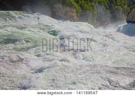 Rheinfall - the biggest waterfall in Europe