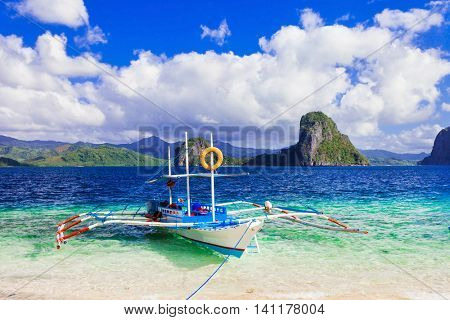 Tropical escape - breathtaking nature and beaches of Palawan, Philippines