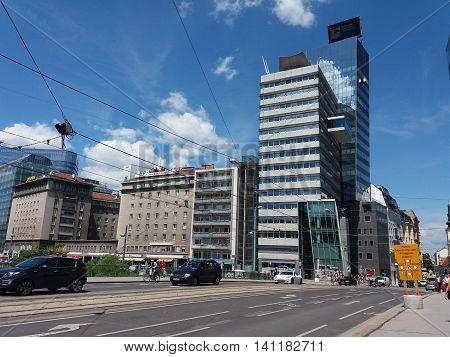 View Of Wien