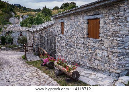 Garfagnana Tuscany Italy - Campocatino near Lago di Vagli Vagli lake