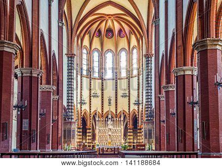 San Francesco Basilic Of Bologna. Emilia-romagna. Italy.