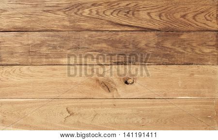 Old wooden background. Wooden table or floor. Old wooden planks concept.