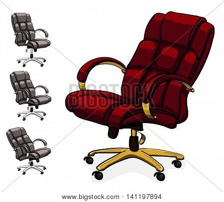 Office Executive Leather Desk Chair.