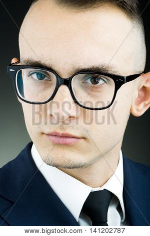 Young Stylish Guy In Glasses