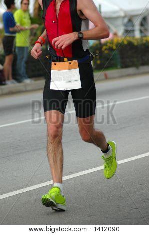 Laufenden Athlet