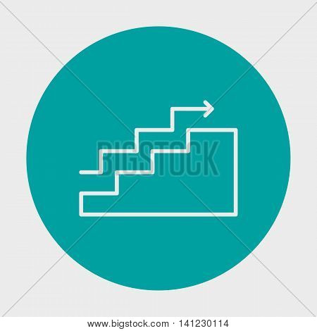Project Management Icons On Charts, Goals, Stats And Growth. Simple Isolated Thin Line Web Icon. Can