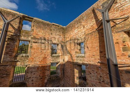The Penitentiary is located in Port Arthur Historic Site, Which until 1877 was a penal colony for prisoners. The site, UNESCO heritage, is located on the Tasman Peninsula, Tasmania, Australia.