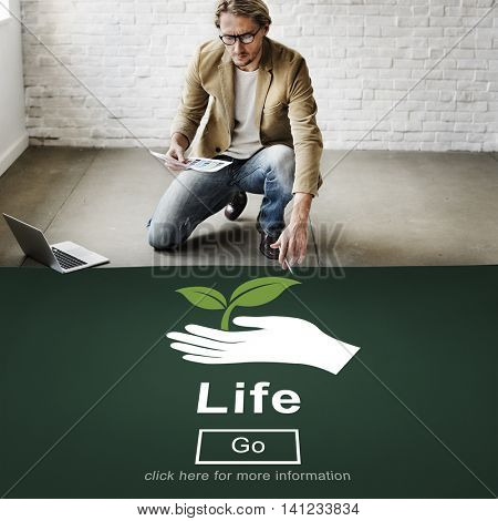 Life Ecosystem Conserve Environment Concept