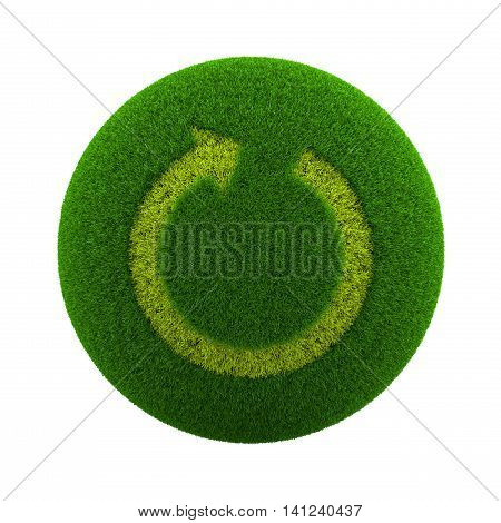 Grass Sphere Reload Icon