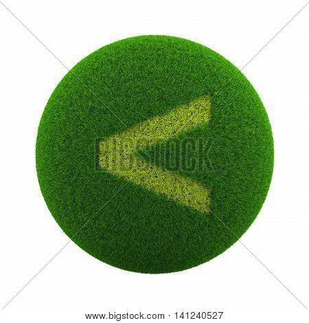 Grass Sphere Minor Sign Icon