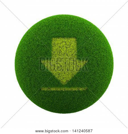 Grass Sphere Download Icon