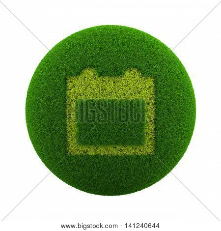 Grass Sphere Calendar Icon
