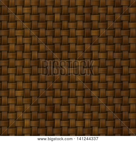 Brown graphic generated knit can be used as background