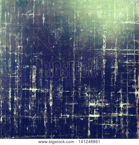 Vintage design background - Grungy style ancient texture with different color patterns: gray; green; blue; purple (violet); white