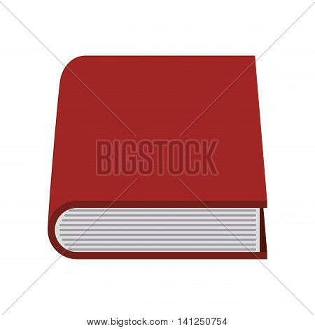 book reading learing school icon. Isolated and flat illustration. Vector graphic