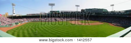 Fenway Park From The Green Monster