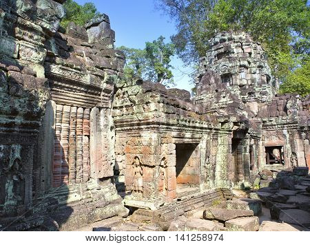 Preah Khan(it is translated as