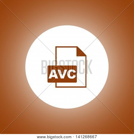 Avc Icon. Vector Concept Illustration For Design