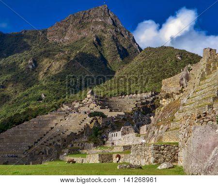Machu Picchu, the lost Incan city in Peru