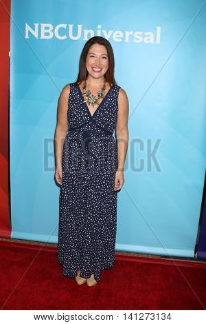 LOS ANGELES - AUG 3:  Randi Zuckerberg at the NBCUniversal Cable TCA Summer 2016 Press Tour at the Beverly Hilton Hotel on August 3, 2016 in Beverly Hills, CA