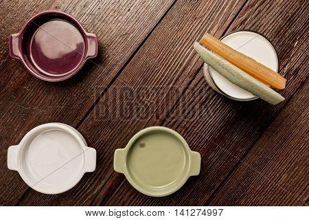 Vegetarian Ingredients On The Table