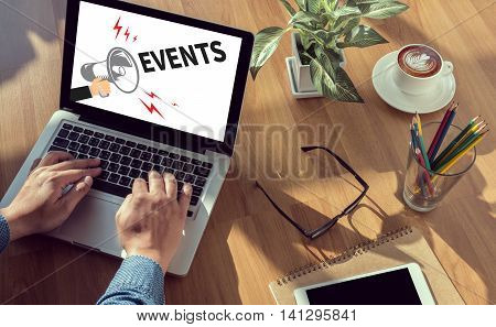 Events (business Office Announcement Communication)