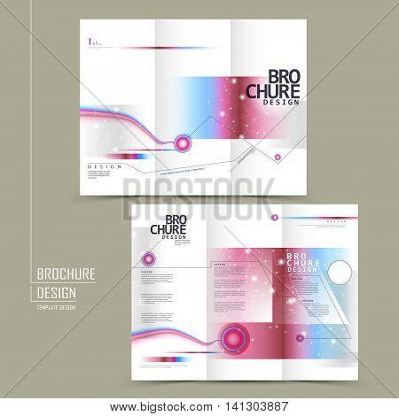Fashionable Tri-fold Brochure Design