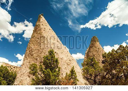 Kasha Katuwe National Monument in New Mexico USA