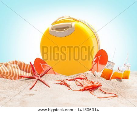 Bright Holidays Accessories Sea Day Relax Travel