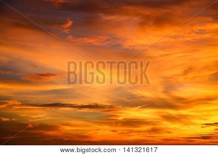 sunset and sunrise time, nature background and empty area for text, feeling love or romantic background in nature, sky background with cloud, nature background in sunset or sunrise time.