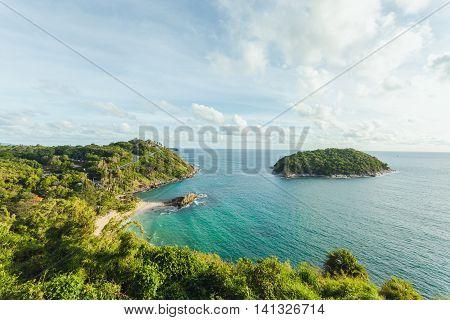 Landscape of Laem Phromthep Promthep Cape at Phuket southern Thailand