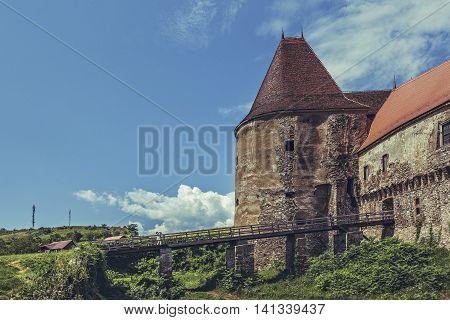 Old Gate Tower, Corvin Castle, Romania