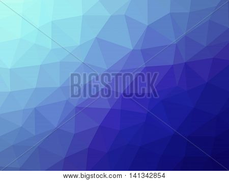 Abstract Teal Purple Blue Gradient Polygon Shaped Background