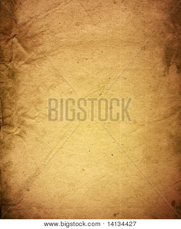 old and worn paper texture background