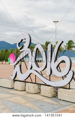 2016 Sculpture On The China Beach In Danang In Vietnam