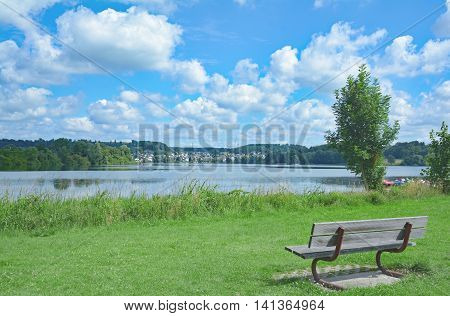 idyllic Place in Stahlhofen am Wiesensee in Westerwald,Rhineland-Palatinate,Germany