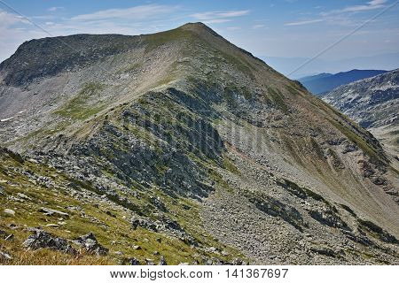 Amazing view to kralev rid peak,  Pirin Mountain, Bulgaria