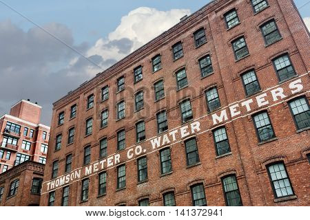 Thompson Water Meter Building
