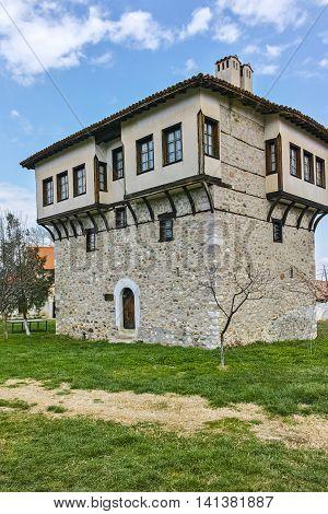Tower of Angel Voivode in Arapovo Monastery of Saint Nedelya, Plovdiv Region,  Bulgaria