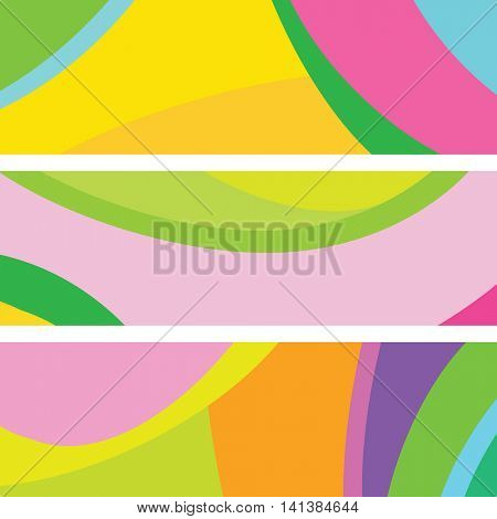 Website banners - Abstract backgrounds with copy space