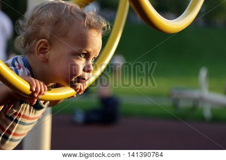 Toddler Climbing Ring Obstacle