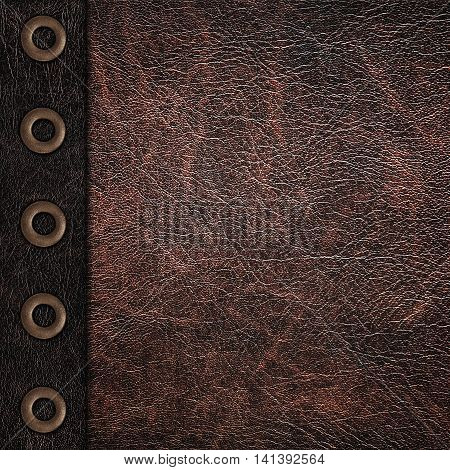 the two color leather vintage grunge background